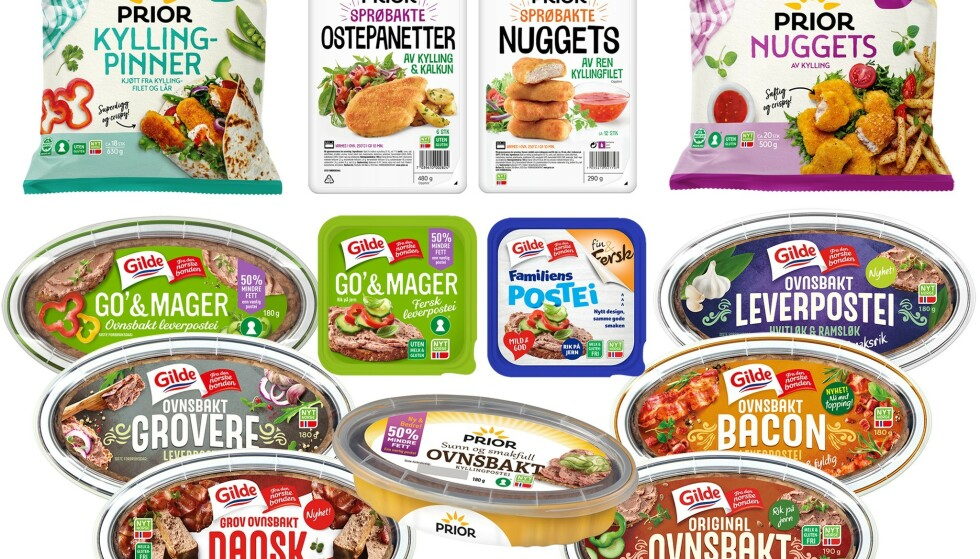 TREKKES TILBAKE: Nortura trekker tilbake flere matvarer. Foto: Nortura