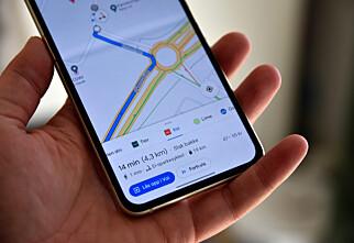 Slik ser du ledige elsparkesykler i Google Maps