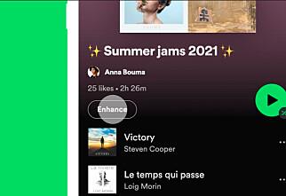 Spotify får ny knapp