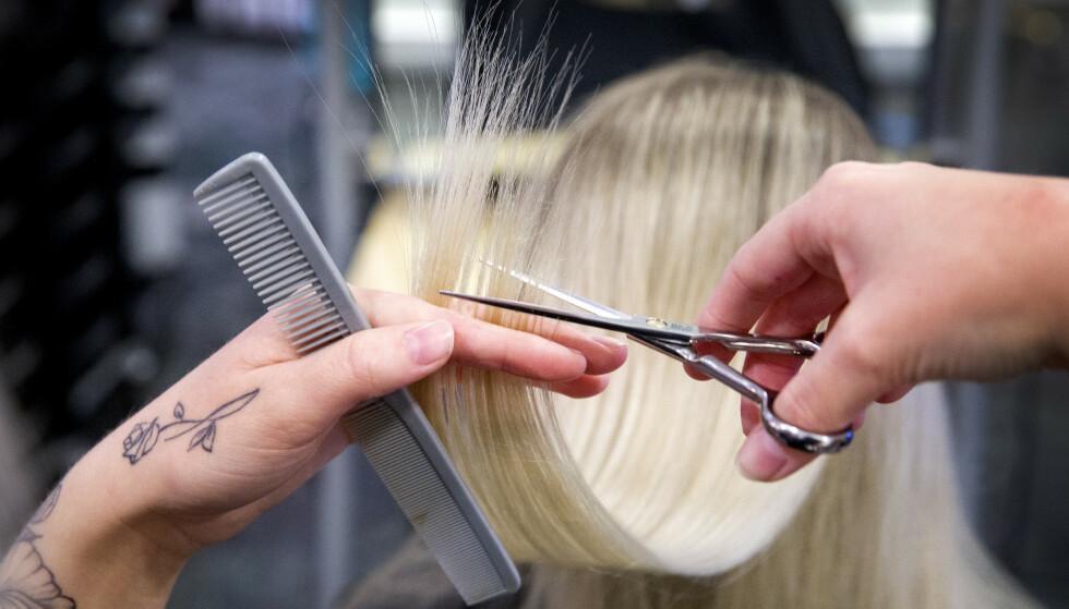 FRISØRPRISER: Det er ulovlig med kjønnsstyrte frisørpriser. Foto: Gorm Kallestad / NTB