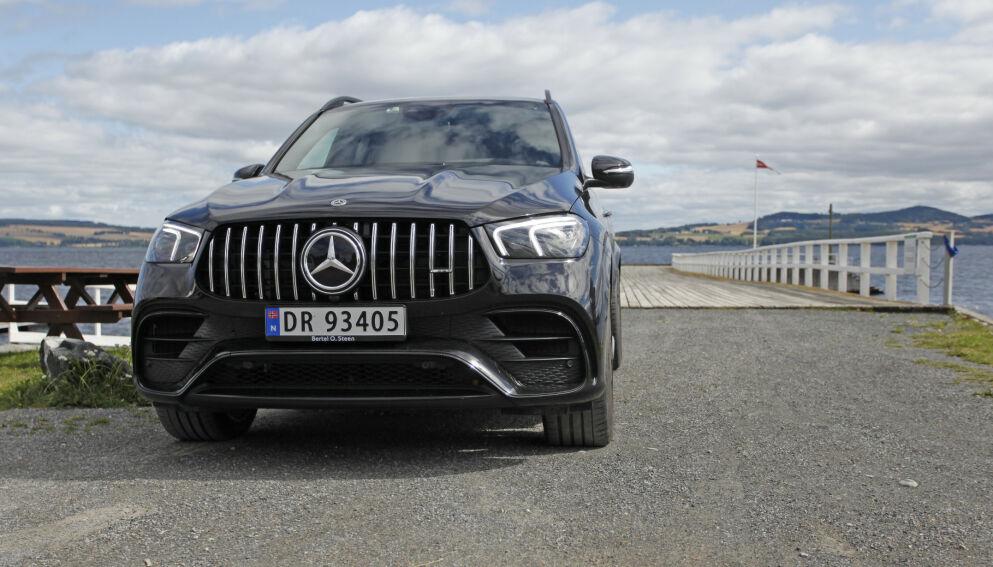 UOPPNÅELIG: Om du ikke er stinn av gryn, må du nok nøye deg med å lese om og se bilder og videoer av Mercedes-AMG GLE 63 S 4Matic. Foto: Øystein B. Fossum