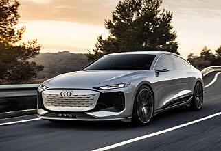 Sjekk rekkevidden på nye Audi A6