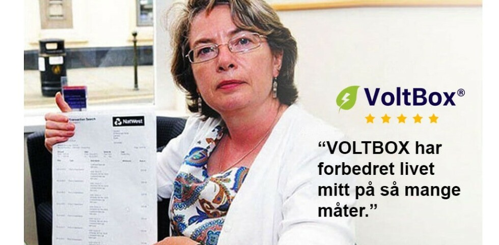 LIVSENDRENDE: Denne dama har visstnok fått et nytt liv med Voltbox. Foto: skjermdump