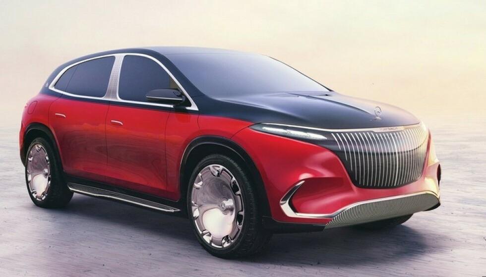 LUKUS-SUV: Ifølge Mercedes-Benz blir dette toppen av luksus du får i en SUV. Foto: Daimler