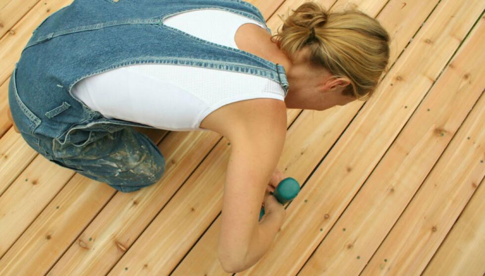 PUSSE-OPP-PENGER: Rammelån er gunstig om du, for eksempel, skal pusse opp eller renovere bolig. Hvorfor? Les saken! Foto: iStock