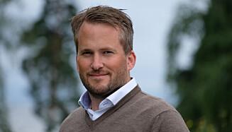 FYRVERKERI: Branningeniør og leder av skadeforebyggende avdeling i forsikringsselskapet If, Anders Rørvik Ellingbø. Foto: If