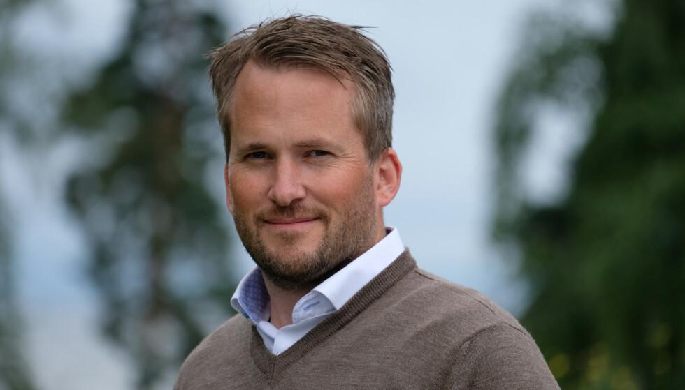 LADE SIKRERE: Branningeniør og leder for skadeforebyggende avdeling i If, Anders Rørvik Ellingbø. Foto: If