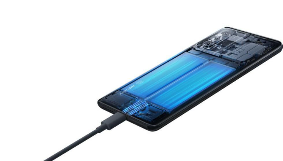 La ricarica rapida di Xiaomi va ben oltre, quindi resta da vedere come sarà influenzata la batteria.  Foto: Xiaomi