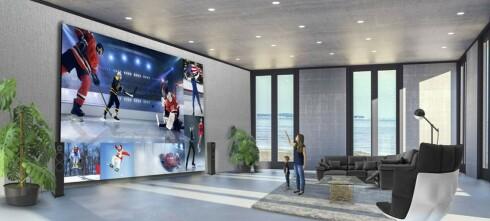 Gigantisk TV: 15 millioner kroner!