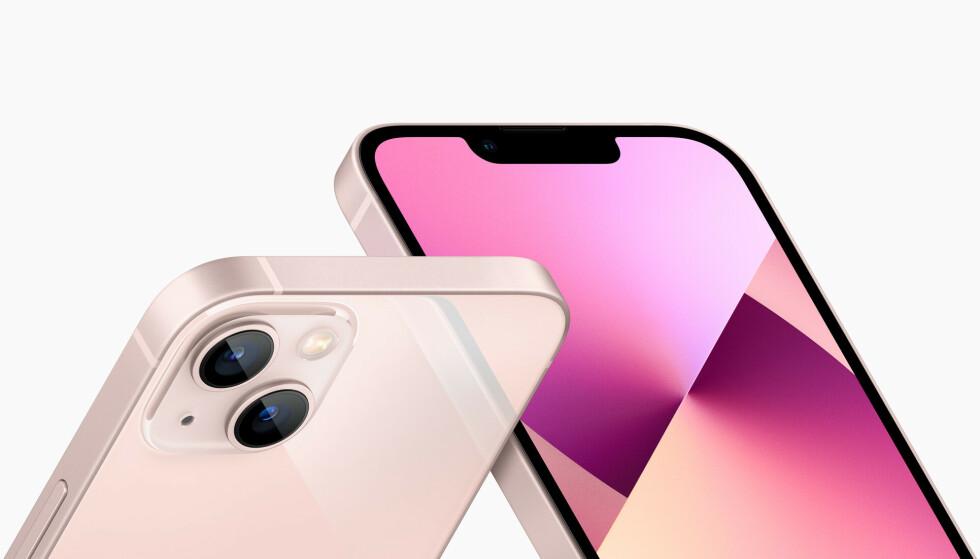 IPHONE 13: Enkelte iPhone 13-modeller er enklere å få tak i enn andre. Foto: Apple