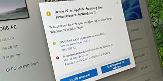 Image: Disse får ikke ny Windows