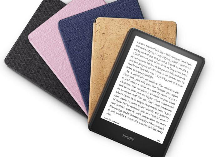 Amazon slipper nye etuier til Kindle Paperwhite. Foto: Amazon