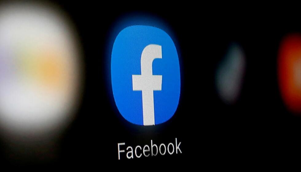FACEBOOK: Datatilsynet velger å ikke benytte Facebook i eget kommunikasjonsarbeid.. REUTERS/Dado Ruvic/Illustration//File Photo/File Photo