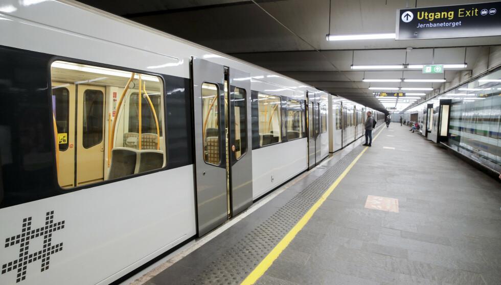 RUTER: 70 prosent av passasjerene er tilbake – det kan føre til at kollektivruter kuttes. Foto: Vidar Ruud / NTB