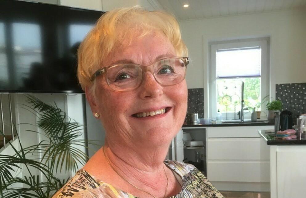 ALLERGIKER: Da Hjelmervik flyttet inn i ny leilighet slet hun med pustebesvær på grunn av alt støvet. Foto: Privat