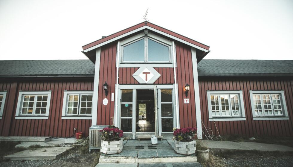 Flott til fjells: Turistforeningshytta Fondsbu. Foto: Morten Noremsaune