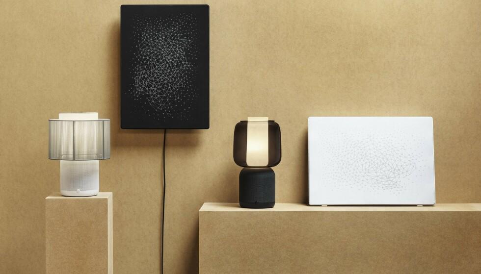 SYMFONISK BORDLAMPEHØYTTALER: Ikea og Sonos fortsetter sitt samarbeid. Foto: Ikea