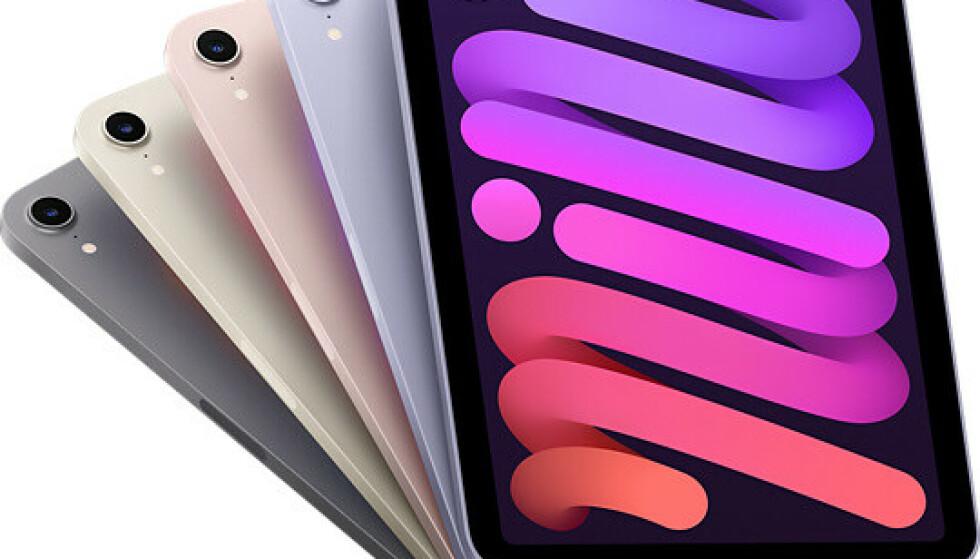 IPAD MINI: Flere iPad-brukere har bitt seg merke i en rar effekt på skjermen. Foto: Apple