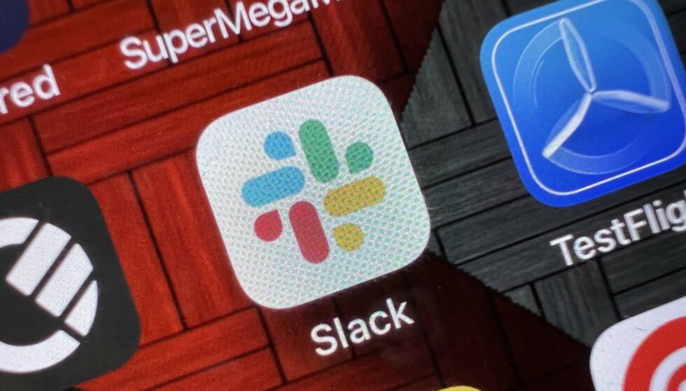 TRØBBEL: Mange får ikke logget på Slack i dag. Det skyldes problemer med DNS-oppføringen. Foto: Pål Joakim Pollen