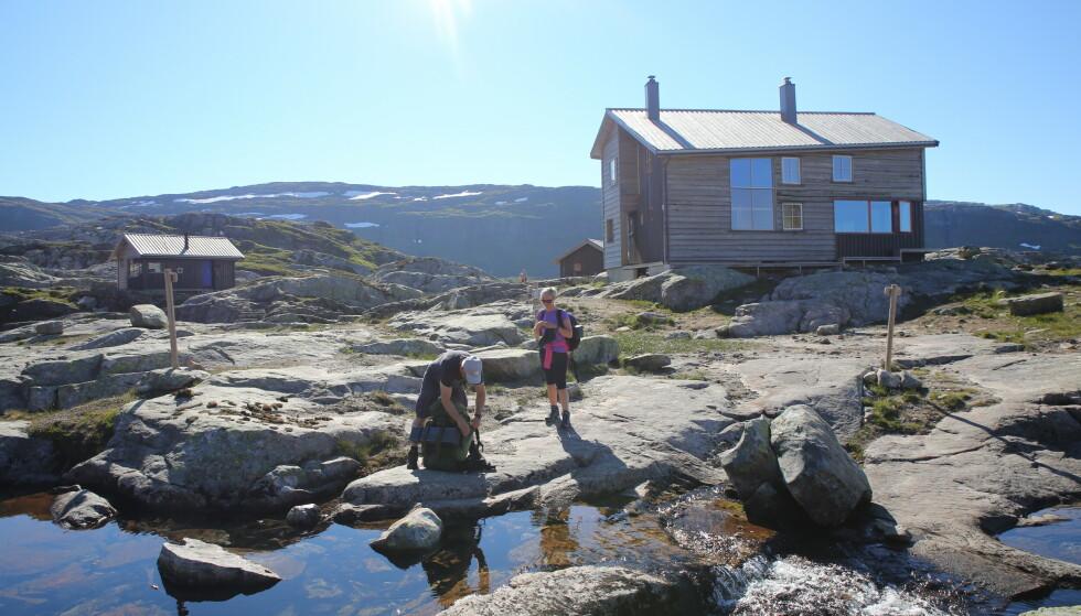 Best i vest: Gullhorgabu er blitt mange vestlendingers favoritthytte. Foto: Andre Marton Pedersen/Turistforeningen