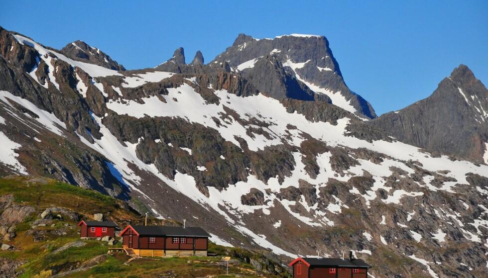 Magisk: Utsikten fra Snytindhytta er uforglemmelig. Foto: Trond Løkken/Turistforeningen