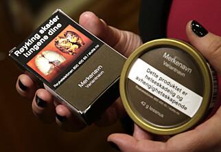 Kjedelige røykpakker ga liten effekt