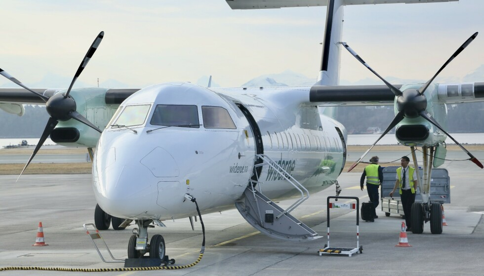 I rute: Widerøe var første selskap som betalte tilbake for alle avlyste flyreiser. Foto: Odd Roar Lange/The Travel Inspector