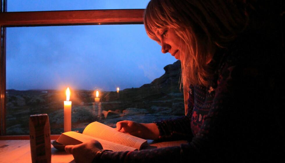 Gode øyeblikk: Hyttetur og gode opplevelser. Høsten er perfekt til dette. Foto: Den Norske Turistforening