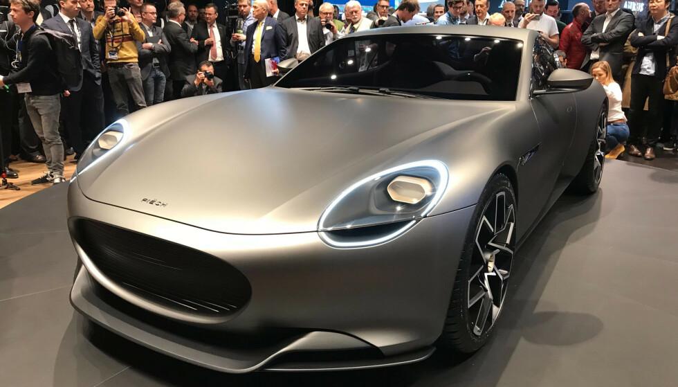 PÅ VEI: Piech GT Coupe ble sist vist på bilmessa i Genève i 2019. Nå lover selskapet at den blir satt i serieproduksjon innen få år.