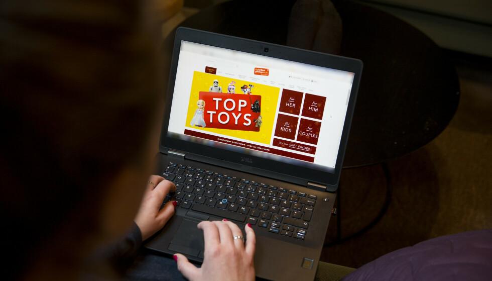 FØLER SEG LURT: Mange unge i aldersgruppen 16 til 24 opplever at de har blitt lurt til å handle noe på nett. Illustrasjonsfoto: Håkon Mosvold Larsen / NTB