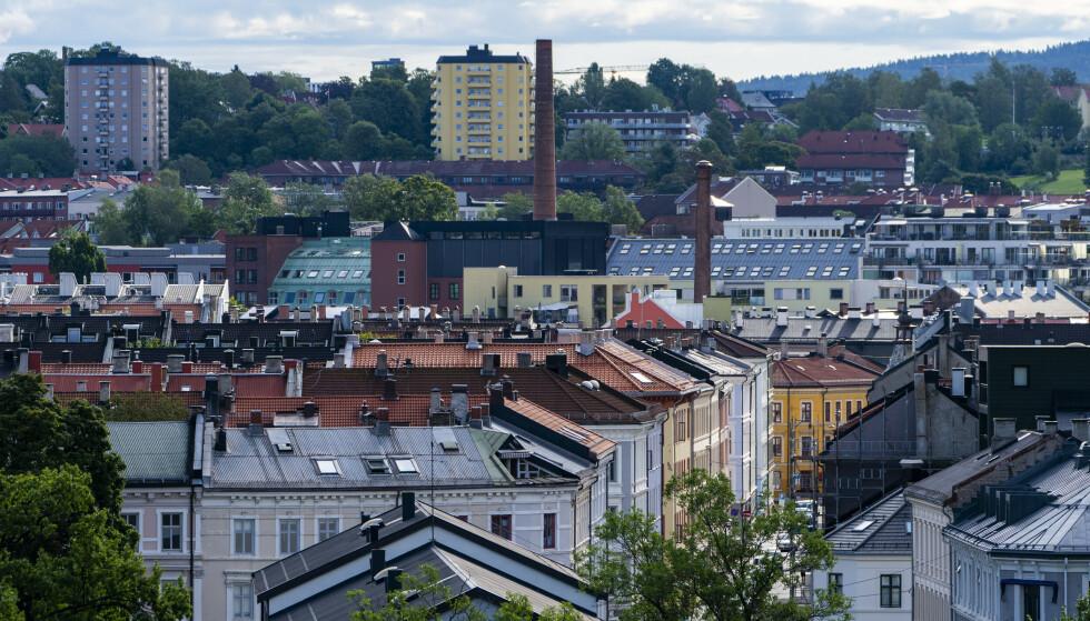 DYRT: Ikke overraskende topper hovedstaden lista over landets dyreste kommuner å bo i - det er altså ikke bare dyrt å kjøpe i Oslo. Foto: NTB
