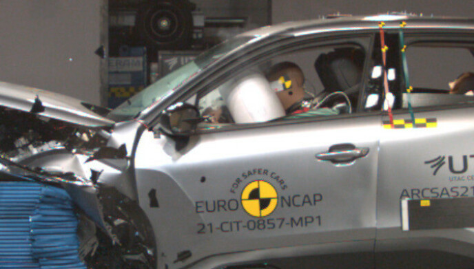 KOLLISJONSPUTER: Flere modeller blant annet fra Citroën, kalles tilbake fordi det kan være feil på kollisjonsputene. Foto: EuroNcap