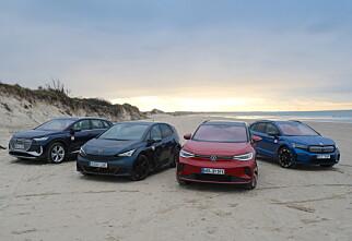 Fire nye fra VW