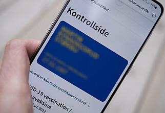 Krav om innreisekarantene for én svensk og tre finske regioner