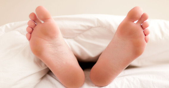 Image: Dumt å sove slik