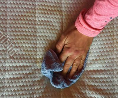 Image: Enkel fiks mot madrass-flekkene