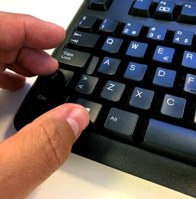 Image: «Hemmelig» kombinasjon fikser fryst PC