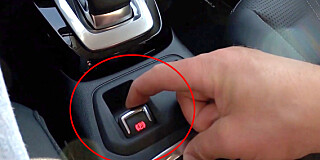 Image: Nødknappen for bilpassasjerer