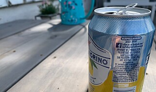Image: - Ikke drikk rett fra boksen
