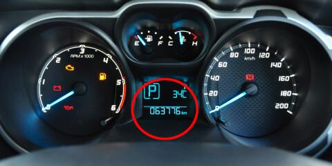 Image: Advarer mot kilometerfelle