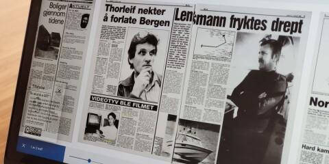Image: Søk i alle landets aviser