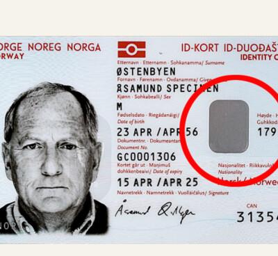 Image: ID-kortets skjulte elementer