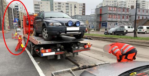 Image: Derfor er bilen borte