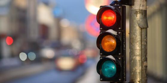 Image: Vil endre reglene i lyskryss