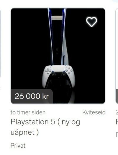 Image: Forlanger 40 000 for Playstation 5