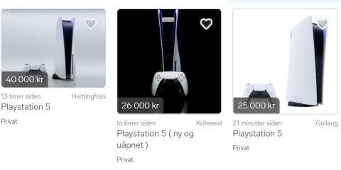 Image: Forlanger 40 000 for Playstation 5