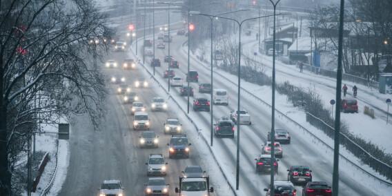 Image: Regjeringen vil øke fartsgrensa