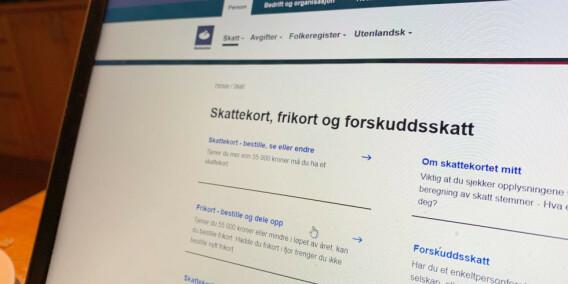 Image: Derfor svinger skatten