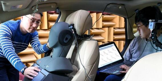 Image: Bilen får ører