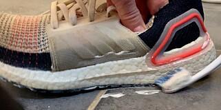 Image: Trikset gjør skitne såler hvite